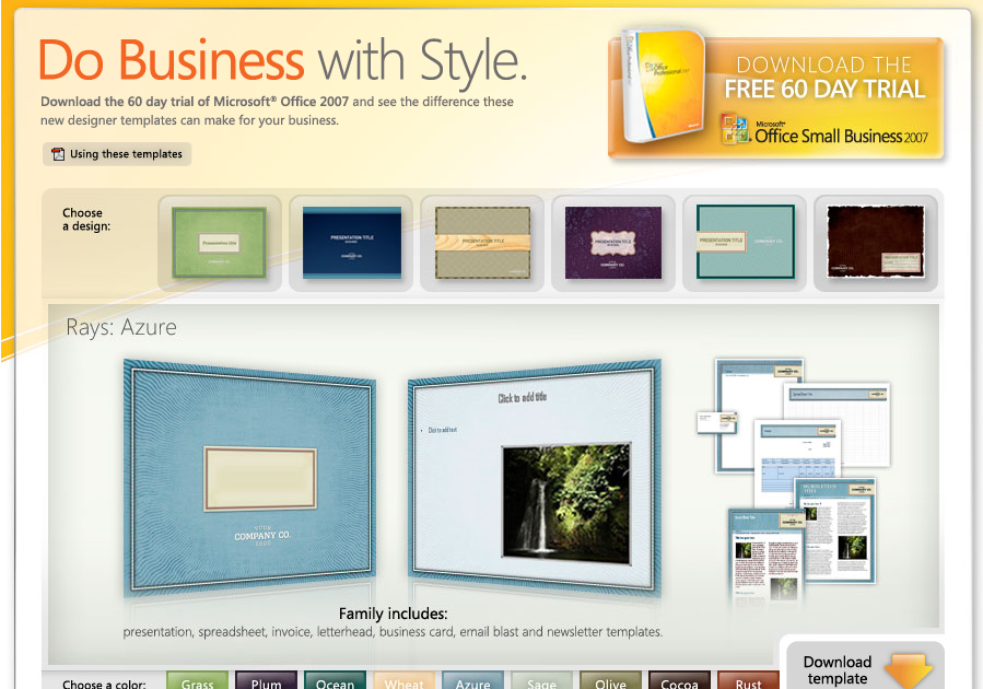 free downloadable microsoft powerpoint templates - download free microsoft office 2007 templates