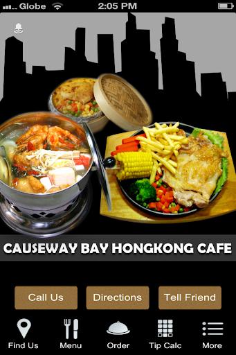 Causeway Bay Hong Kong Cafe