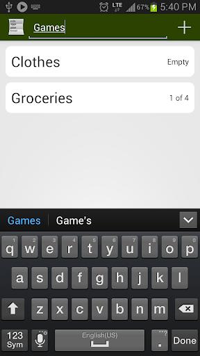 Just Groceries