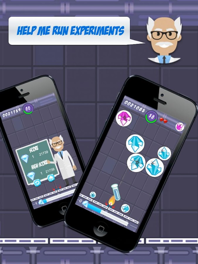 Diamond Labs - Bubble Shooter- screenshot