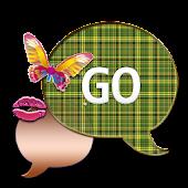 GO SMS THEME/ButterflyKissPld