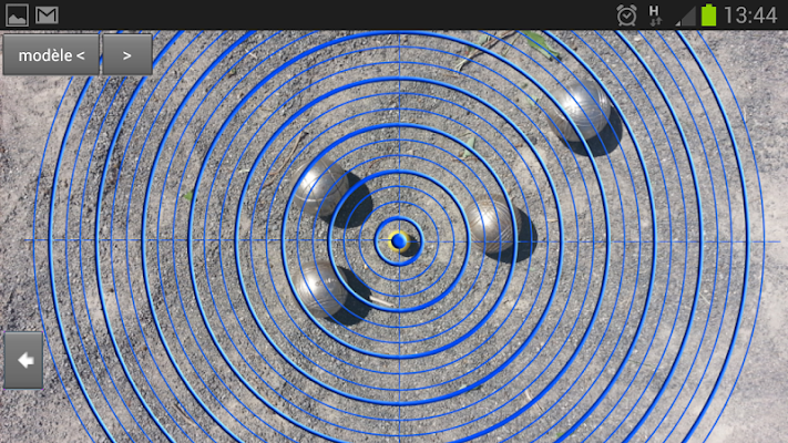 Pétanque précision - screenshot