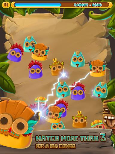 【免費解謎App】Tiki Slime Tribal Match Blast-APP點子