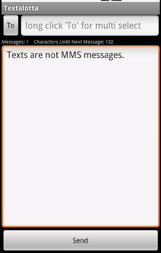 Text a lotta