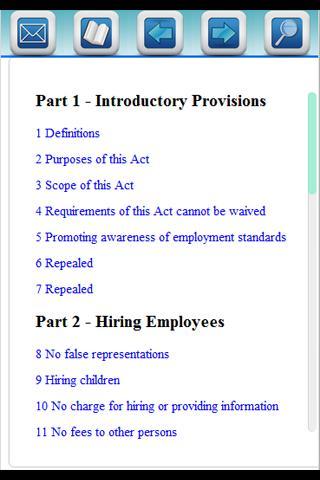 BC Employment Act Pro App