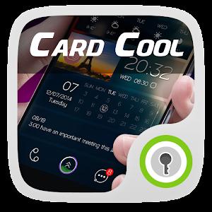 Card Cool GO Locker Theme
