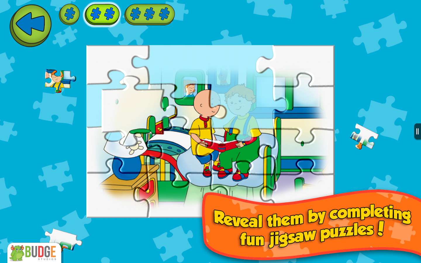 Caillou House of Puzzles- screenshot