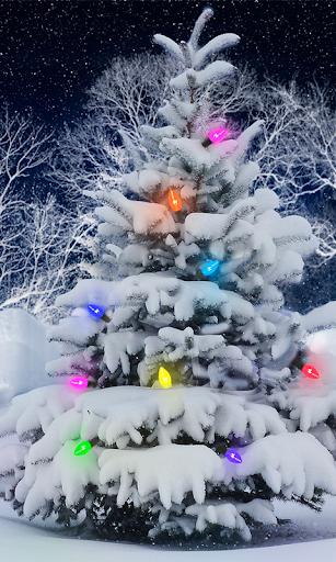 聖誕雪可愛壁紙