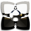 NEXT tema de HD homem prata icon