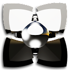 Next Launcher Theme silverman icon