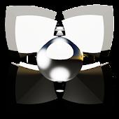 Next Launcher Theme silverman