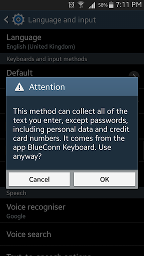 BlueConn Keyboard