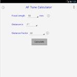 AF Tune Calculator