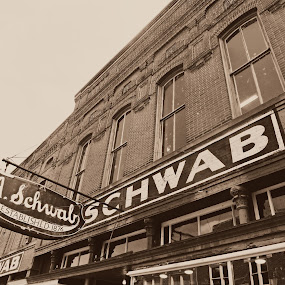 Schwab by Deborah Russenberger - Buildings & Architecture Other Exteriors ( sepia,  )