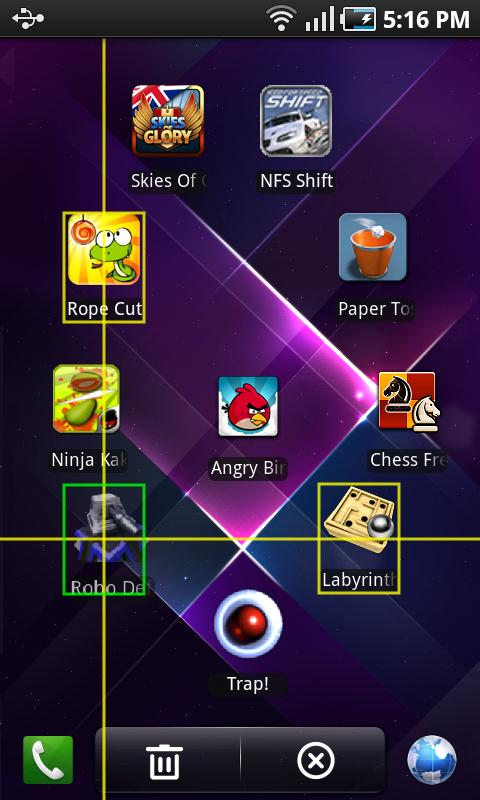 Regina 3D Launcher - screenshot