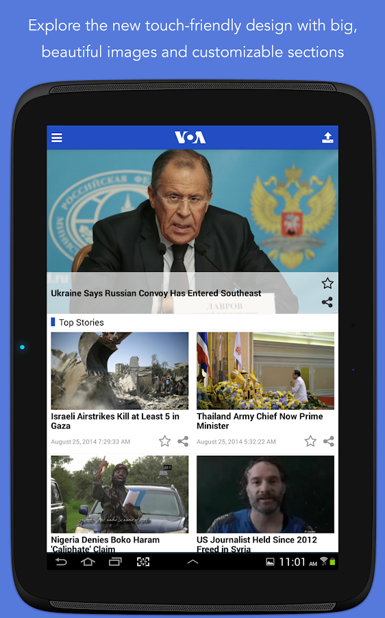 VOA News - screenshot