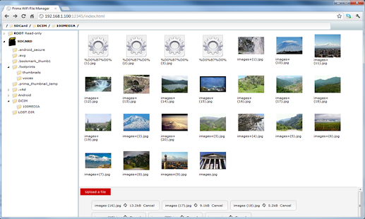 WiFi File Manager Pro - screenshot thumbnail