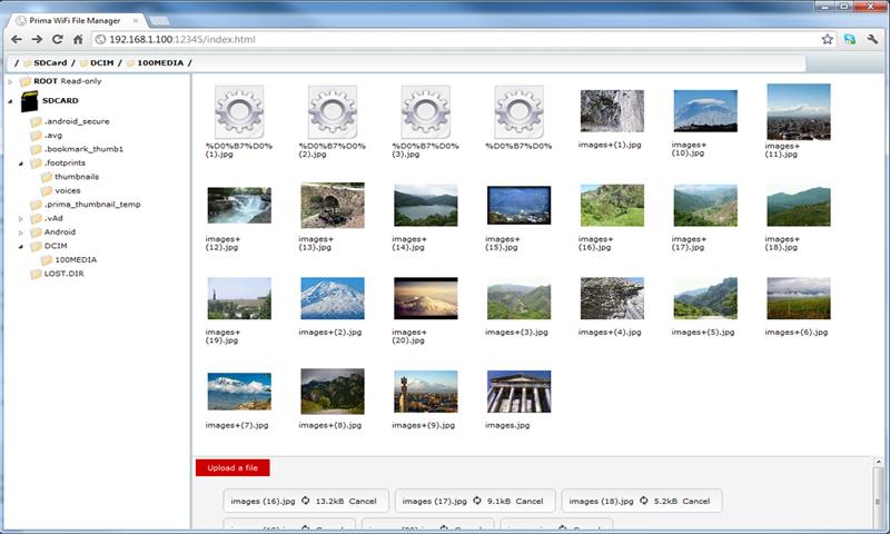 WiFi File Manager Pro - screenshot