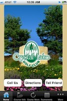 Screenshot of Crystal Lake Golf