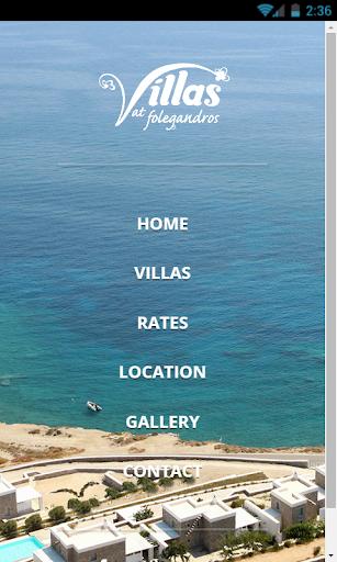 Folegandros Villas