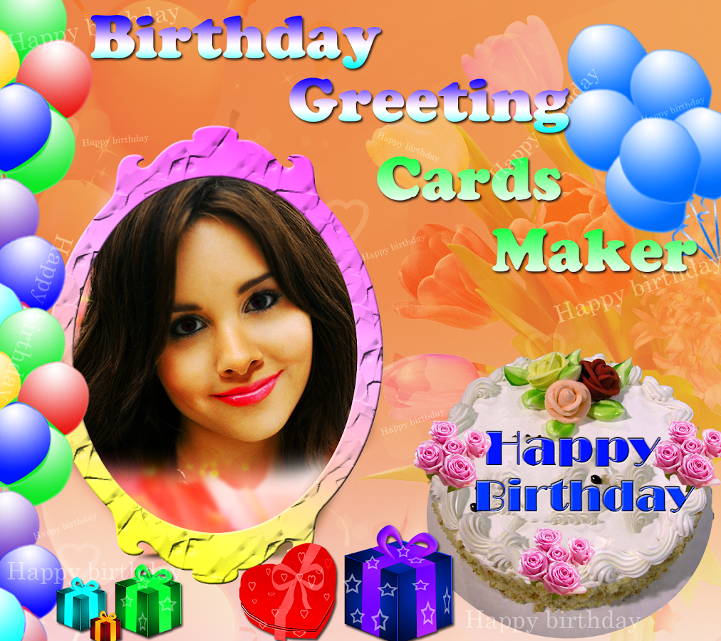 Custom Card Template create a card free : Birthday Greeting Cards Maker - Android Apps on Google Play