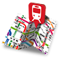 Railway map Kinki / private railway (1) Hankyu and Hanshin APK icon