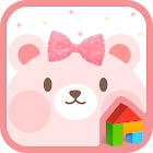 PinkBear dodol launcher theme icon