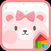 PinkBear dodol launcher theme