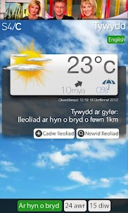 Tywydd S4C Weather - screenshot thumbnail