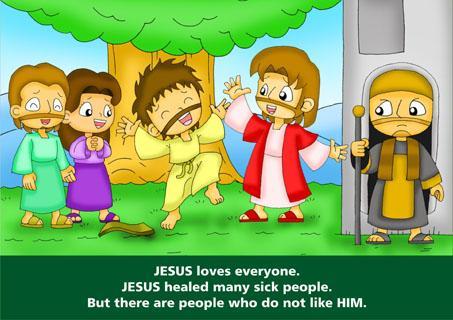 Bible Comic Kids: Jesus Christ