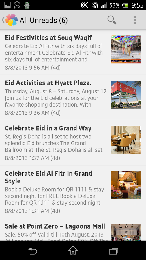 Mega Deals Qatar - screenshot