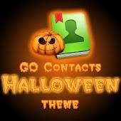 GO Contacts EX Halloween theme