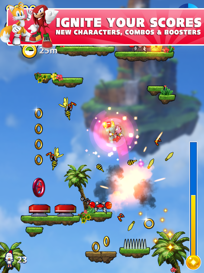 Sonic Jump Fever - screenshot