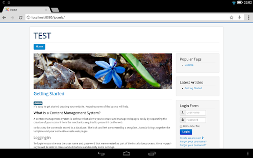 Bit Web Server (PHP,MySQL,PMA) - screenshot thumbnail