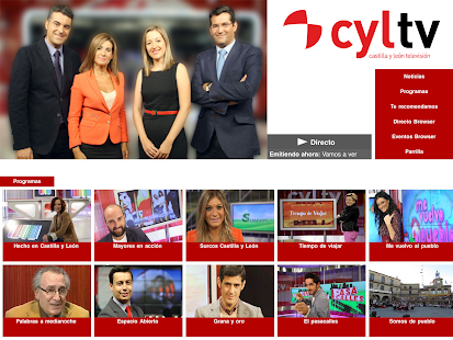 Castilla y León Televisión- screenshot thumbnail