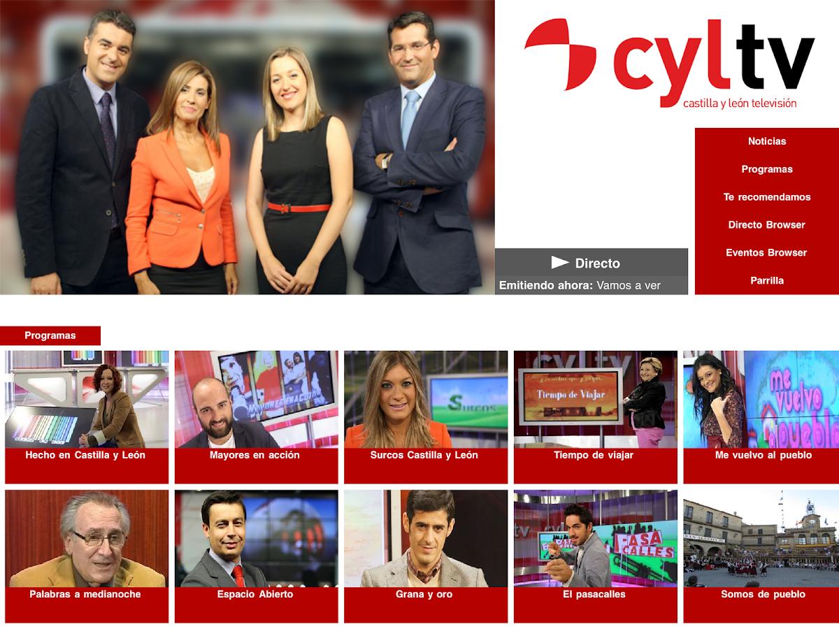 Castilla y León Televisión - screenshot