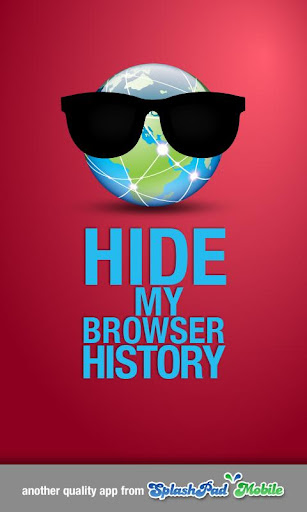 Privacy Browser - Hide History