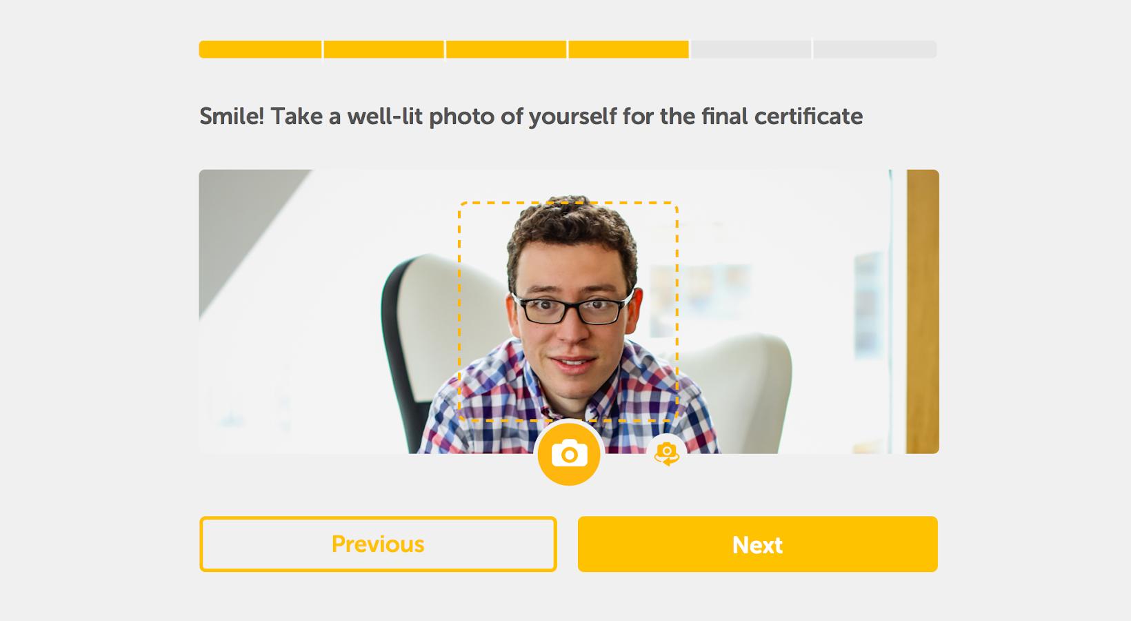 Duolingo Test Center- screenshot