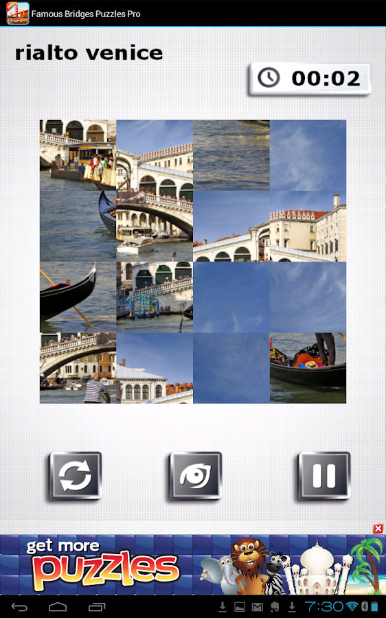 Famous Bridges Puzzles - Free - screenshot
