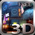 Futuristic City 3D Free lwp icon