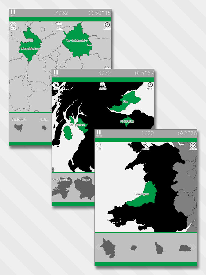 Enjoy Learning UK Map Puzzle- screenshot