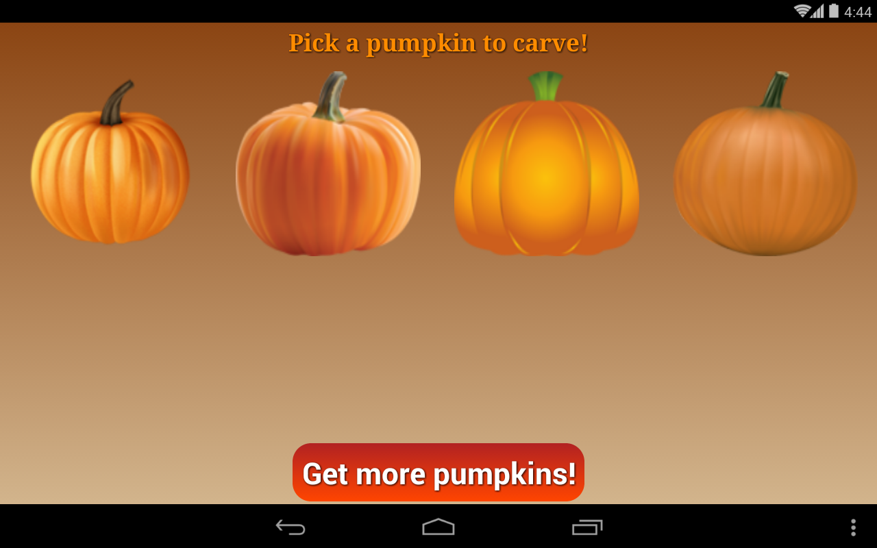 Pumpkin Carver- screenshot