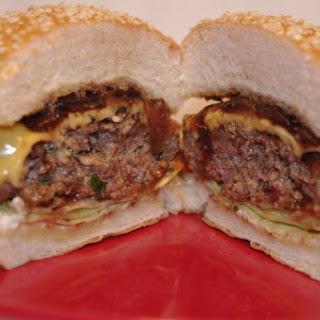 Balsamic Basil Brisket Burgers Recipe