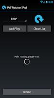 Screenshot of Pdf Rotate and Merge