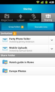 MegaCloud – 8GB Free Storage - screenshot thumbnail