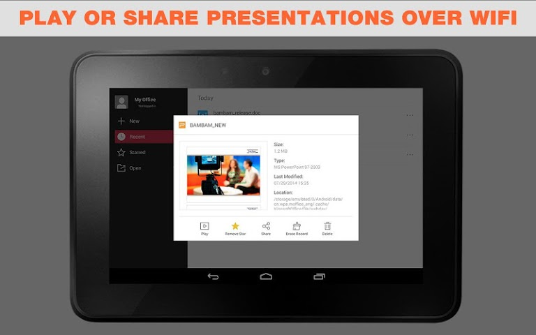 android WPS Office + PDF Screenshot 5