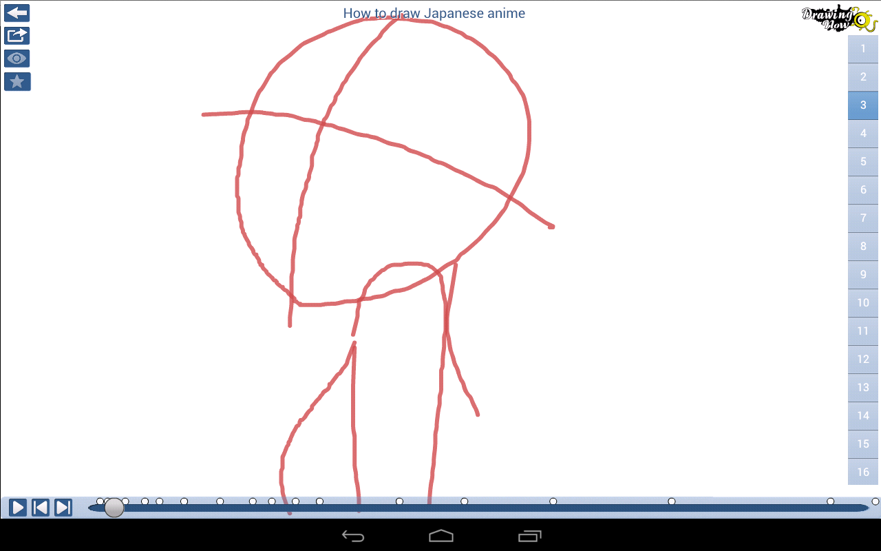 DrawingNow - How to Draw- screenshot