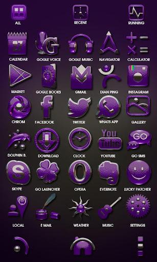 玩個人化App 紫色のHDライブ壁紙免費 APP試玩