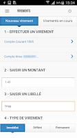 Screenshot of AXA Banque France