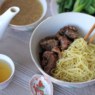 Dry Beef Noodle Soup.